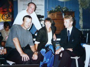 Benefizveranstaltung mit Michael Roll und Jens Weißflog beim Golfturnier in Starnberg