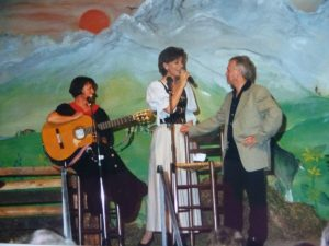 Gemeinsame Veranstaltung mit der Schlagersängerin Eva Maria in Rhodt